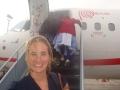 Departure from Peru
