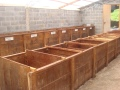 Sweatboxes for the fermentation process