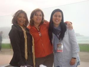 Carmen Rosa, Stella, and Marisela