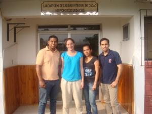 Cacao Laboratory team at INIAP