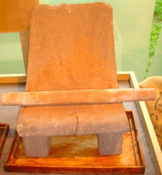 Chocolate-making stone