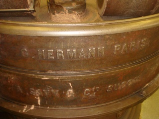 Hermann Paris branded conching machines