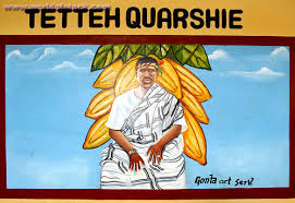 Portrait of Tetteh Quarshie