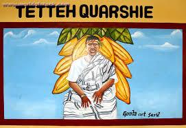 Portrait of Tetteh Quarshie