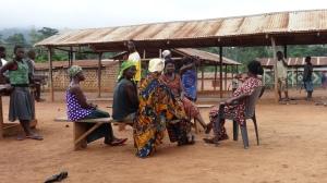 women cocoa farmers, Juabeso, Ghana