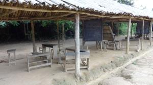 Basic primary school classroom